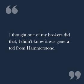 Hammerstone Markets Testimonials 1